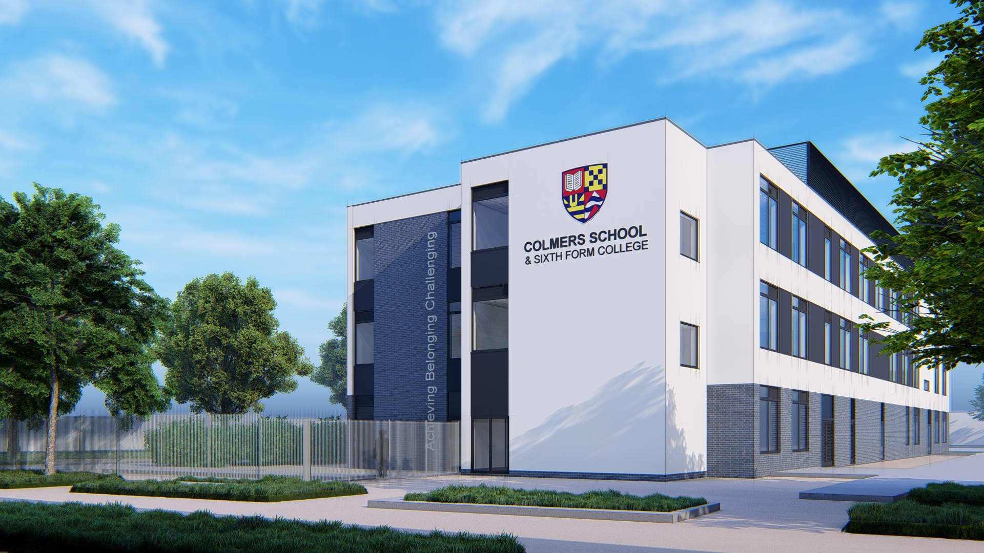 This much needed replacement of one out dated school building on the site will offer modern facilities providing life long benefits for pupils and staff in